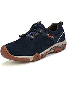 Scarpe da trekking in pelle maschile scarpe sportive all'aperto in primavera e in autunno leggero resistente e...