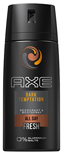 AXE Deospray Dark Temptation ohne Aluminium 150 ml, 3er Pack (3 x 150 ml)