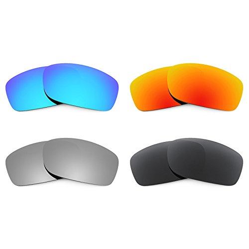 Revant Ersatzlinsen für Oakley Fives 3.0 Polarisiert 4 Paar Kombipack K018
