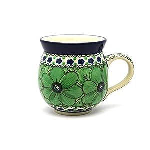 Polish Pottery Mug – 11 oz. Bubble – Unikat Signature U408A