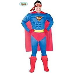 DISFRAZ SUPER HEROE PARA HOMBRE TALLA (L)=(52-54)