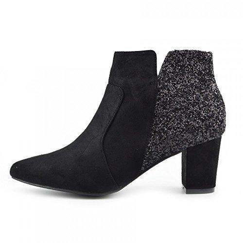 Kick Footwear, Scarpe da barca donna Black - F50690