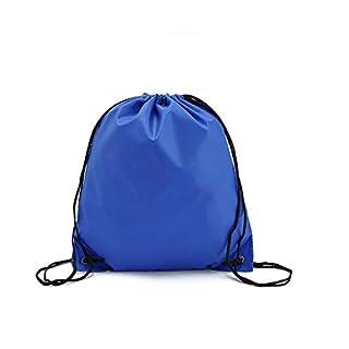 asentechuk® 1PCS Wasserdicht Oxford Tuch Speicher Taschen Kordelzug Rucksack Baby Kinder Spielzeug Travel Schuhe Wäsche Dessous Make-up Tasche, blau