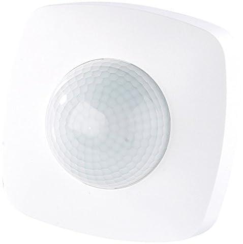 revolt Bewegungsmelder: Automatischer Lichtschalter mit PIR-Präsenz-Sensor (Präsenzmelder)