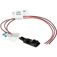 CT-RELE.100 - Estabilizador de tensión/relé para instalacion de cámaras de marcha atras y evitar ruidos y pantalla parpadeante