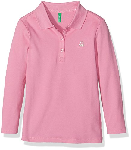united-colors-of-benetton-3bg8c3047-polo-para-ninos-rosa-18-24-meses-talla-del-fabricante-2y