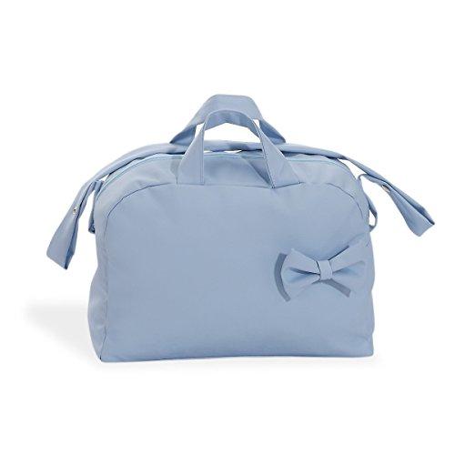 Bolso Cambiador Polipiel Azul