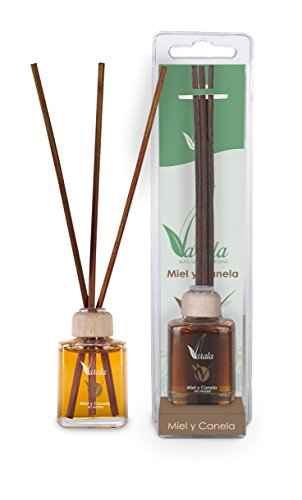 Assainisseur d'air varala Mikado avec huiles naturelles ou% alcool 15 ml miel et cannelle