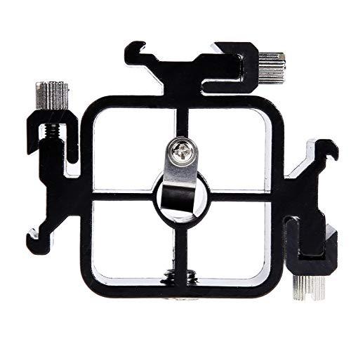 Werse Triple Hot Shoe Mount Adapter Taschenlampe Standschirmhalter Halterung für Canon Nikon Pentax -