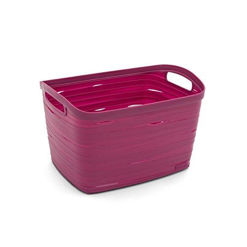 Panier Ruban Ribbon S taille en plastique en violet couleur