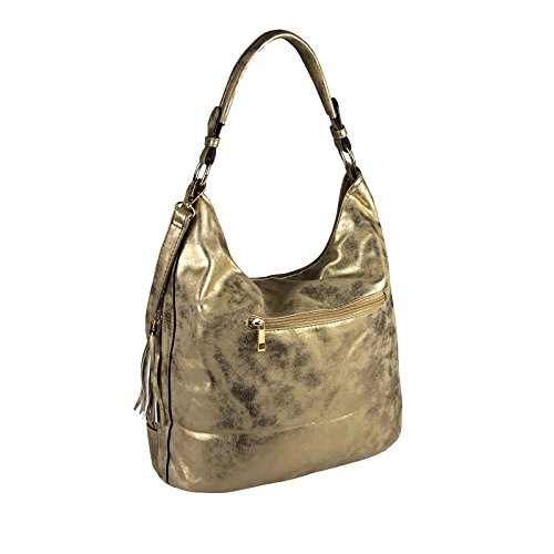 OBC Only-Beautiful-Couture, Borsa tote donna marrone bronzo ca.: 38x34x15 cm (BxHxT) bronzo