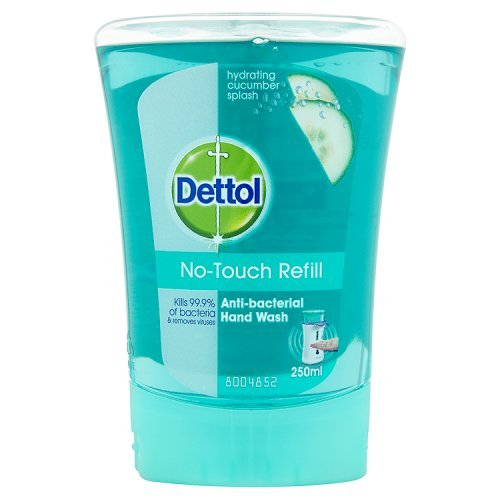 Dettol No-Touch Hand Wash Recharge Hydratant concombre Splash 250ml