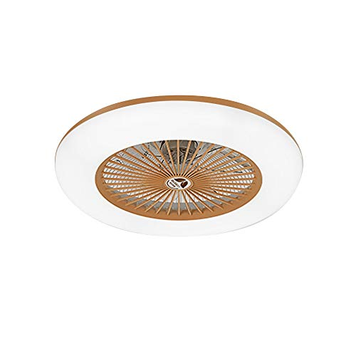 Lixada Deckenventilator mit Beleuchtung LED-Licht Einstellbare Windgeschwindigkeit Dimmbar mit Fernbedienung Ohne Batterie 36W Moderne LED-Deckenleuchte für Schlafzimmer Wohnzimmer Esszimmer