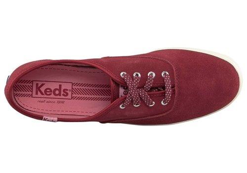 Keds Champion WH49467 Burgundy Suede Sneaker Gr. 38