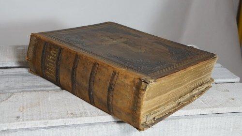 Wohnliebhaber Biblia Die Bibel Heilige Schrift Martin Luther Halle 1866 Altdeutsch Antik Buch