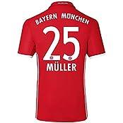 adidas Jungen Fußball/Heim-Trikot Fc Bayern München Heimtrikot Replica