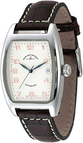 Zeno-Watch Orologio Donna - Tonneau OS Automatico Retro - 8080-f2