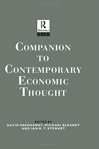 Companion to Contemporary Economic Thought (Routledge Companion Encyclopedias)