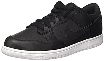 quality design e586e bccb9 Nike Dunk Low Femmes Trainers 904234 904234 904234 Baskets Chaussures US 7,  Noir Blanc 78b339