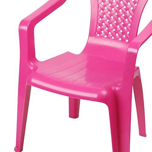 Progarden Stuhl Kindermonoblock Sedia, Baby, rosa - 4