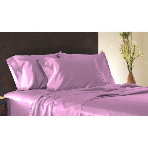 Seidig Salbei (Shop Bettwäsche Sweet Dreams Satin Kissen Fall mit Offenem Ende, Seidig Weichen Satin Kissenbezüge für Haar und Haut (erhältlich in 17Farben) Standard Lavendel)