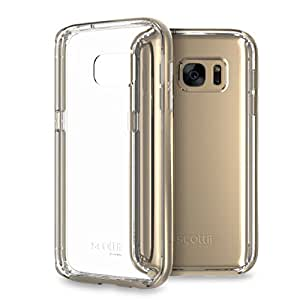 Galaxy S7 Case, Scottii Luxurii Clear Galaxy S7 Case, [Scratch Resistant] [Crystal Clear] (Titanium Silver)