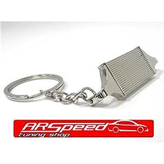 ARSpeed LLK12 Ladeluftkühler Schlüsselanhänger Silber