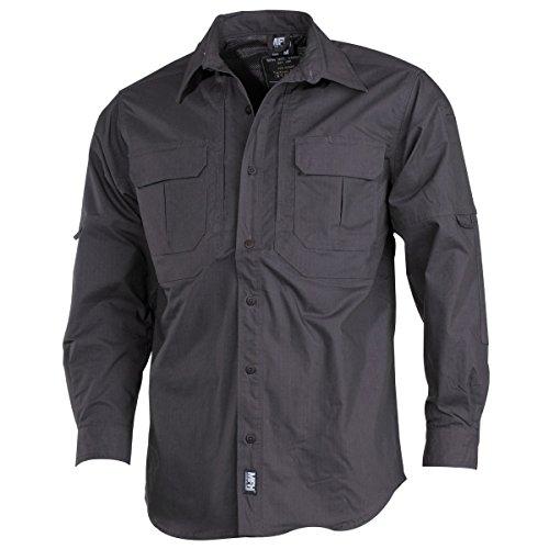 MFH -  Camicia Casual  - Basic - Collo mao  - Uomo Anthrazit