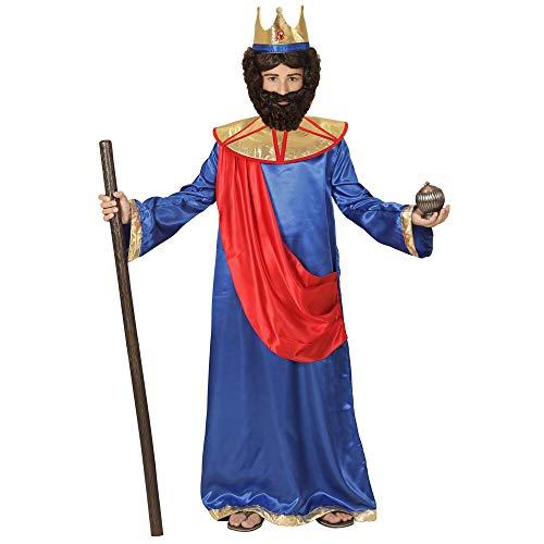 WIDMAN Rey Bíblico (Azul) - Disfraz Infantil - Medium - Edad 8-10 -140cm