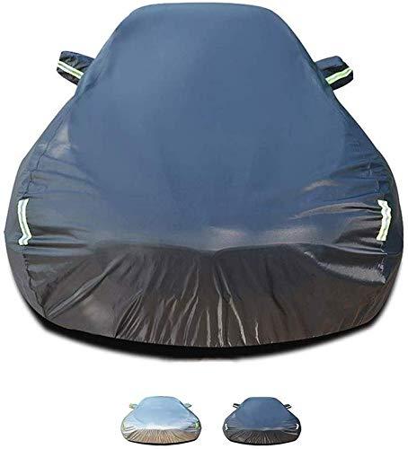 LYQCZ Autoabdeckung funktioniert mit Honda FIT |Eine Schicht Baumwollfussel innen |Regendicht, Winddicht, staubdicht, UV-beständig, abkühlend (Farbe: A, Größe: 2004-2011 1,3 l)