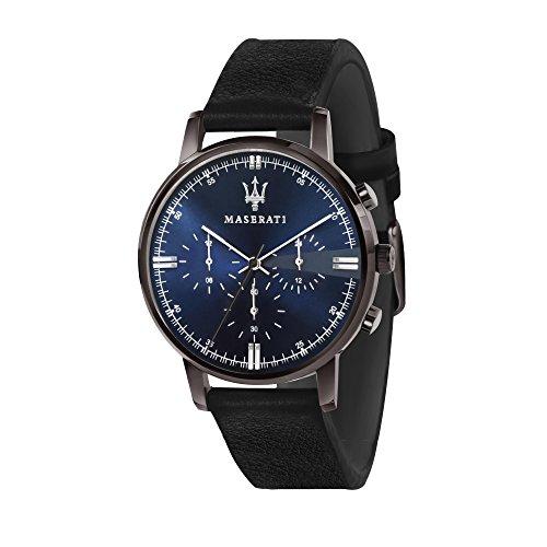MASERATI Reloj Cronógrafo para Hombre de Cuarzo con Correa en Cuero R8871630002