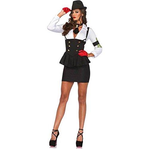 LEG AVENUE WEIBLICHE GANGSTER (Gangster Weibliche Kostüme)