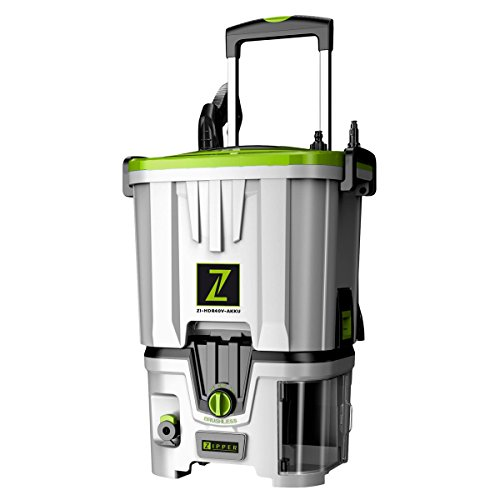 Zipper - Nettoyeur haute pression 35 L 80 bar sans fil 40 V 4 Ah - ZI-HDR40V-AKKU - Zipper
