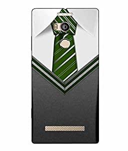 Make My PrintTie Printed Multicolor Hard Back Cover For Gionee Elife E8