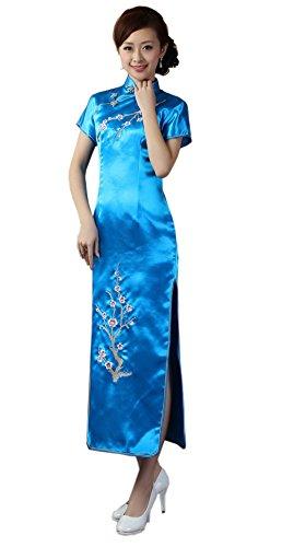 JTC Women's Short Evening Dress Xxx-Large Acid Blue