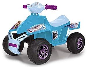 Feber - Quad Moto Racy Frozen 2, para niños y niñas a partir de 18 meses, 6V (Famosa 800012193)