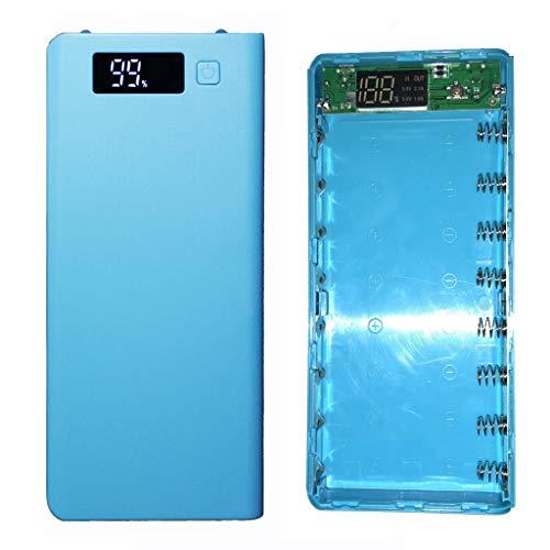 Jenor 5V Dual USB 8x 18650Power Bank battery box charger DIY del telefono mobile di custodia