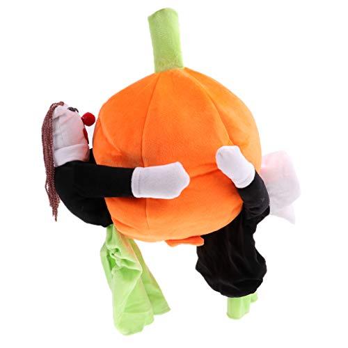 Homyl Halloween Hundekostüm Kleiner Hund Katze Mantel Haustier Kürbis Verkleidung Cosplay Kostüme - XL (Halloween-kostüme Hunde Für)