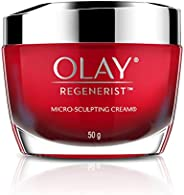 Olay Day Cream Regenerist Microsculpting Moisturiser (NON SPF), 50g
