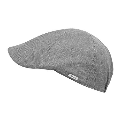 CHILLOUTS Cleveland Hat in Hell Graa L -XL | Schiebermütze | Herren Sommermütze (Cleveland Hat)
