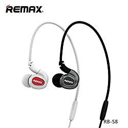 REMAX RB-S8 Bluetooth Headphones for Smartphones (Black)