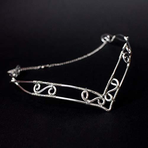 Beruthiel Elfic Wire Braut Tiara, Elfen-Stil Krone für -