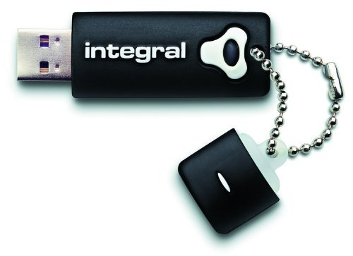 Integral USB Stick 32GB USB 2.0 Splash Drive, schwarz/INFD32GBSPLBK