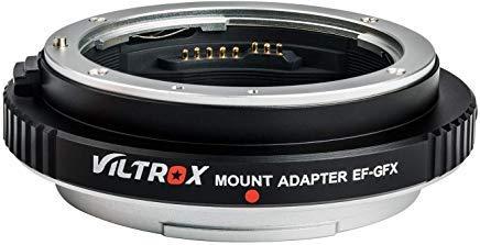 Viltrox EF-GFX Auto-fokus Objektiv Adapter Konverter mit Blendensteuerung für Canon EF Serie Objektive auf Fuji GFX Mount Mittelformat Kamera Fujifilm GFX 50S / GFX 50R