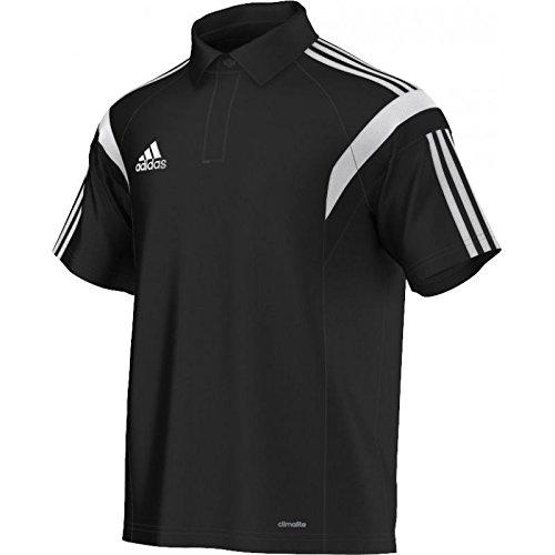 adidas Herren Poloshirt Condivo 14, Black/White, M