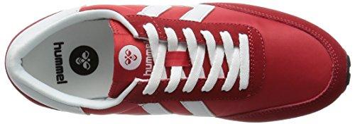 Hummel - Seventyone Lo, Scarpe da ginnastica Unisex – Adulto Rosso (Ribbon Red 3425)