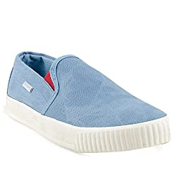 Lee Cooper Mens Sky Blue Loafers - 6 UK/India (40 EU)(LC6535)