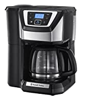 Russell Hobbs 22000 Chester Grind and Brew, Polished Stainless Steel and Black