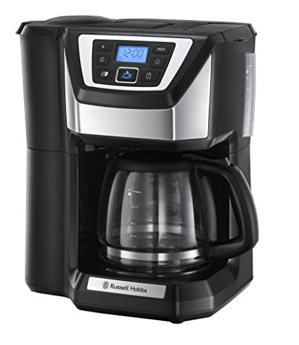 Russell Hobbs 22000 Chester Grind and Brew Coffee Machine - Black by Russell Hobbs