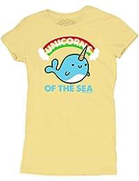 David and Goliath Womens Sea Unicorns T-shirt